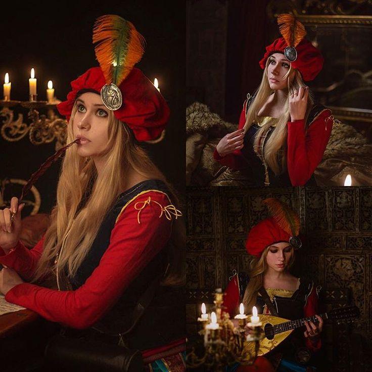 Gorgeous Priscilla by @pisikakik 💙 #witcher3 #ciri #cirilla #geralt #geraltofrivia #yennifer #triss #cosplay #ведьмак #ведьмак3 #цири #цирилла #йеннифер #геральт #геральтизривии #трисс #косплей #keira #priscilla