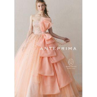 ACQUA GRAZIE(アクア・グラツィエ):【ANTEPRIMA】新作ドレス!人気のサーモンピンクが登場♪(ANT0045)