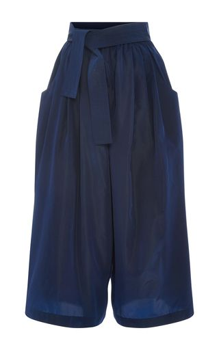 Taffeta Cropped Karate Pants by TOME Now Available on Moda Operandi