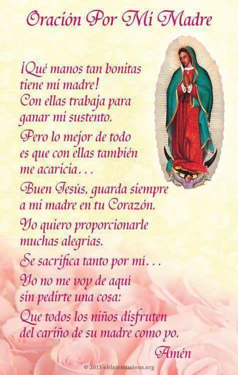 Oración por mi Madre.