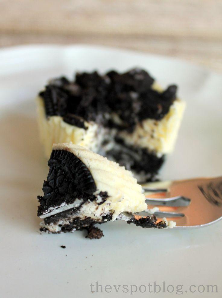 The perfect sized mini cheesecake.