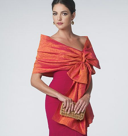 Great wrap and shrug pattern. Vogue.