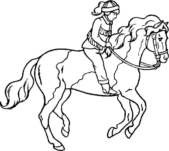 50 Horse Shape Templates Crafts Coloring Pages Horse
