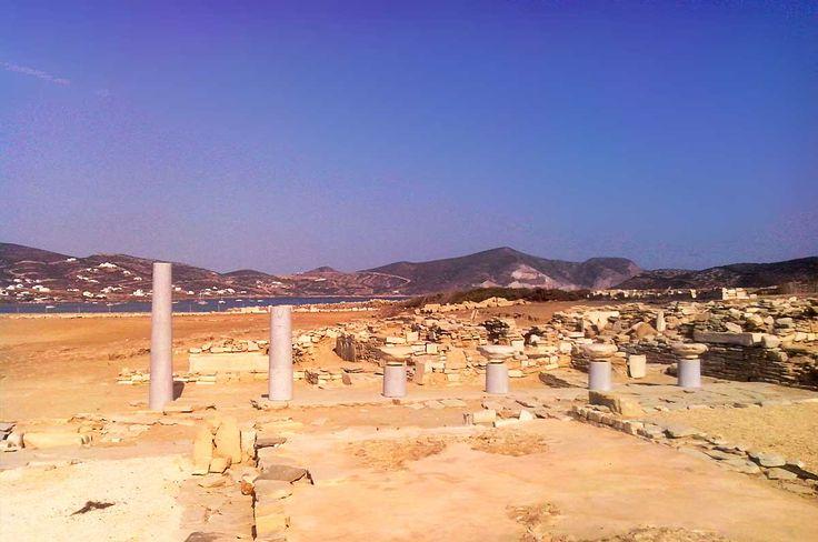 Despotiko ancient excavation site - Antiparos, Cyclades, Greece. #antiparos #cyclades #greece #despotiko