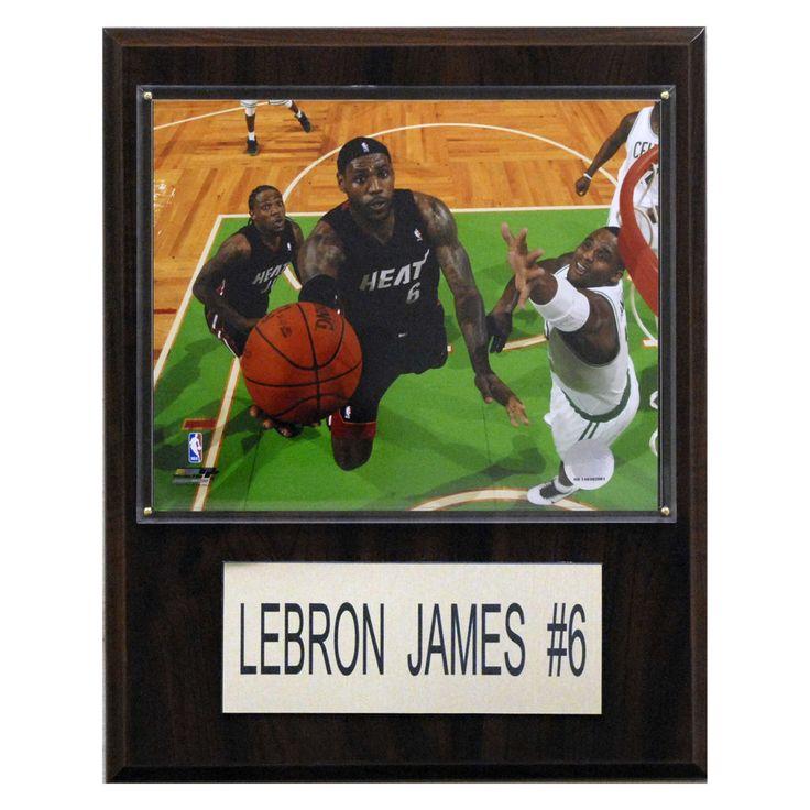 NBA 12 x 15 in. LeBron James Miami Heat Player Plaque - 1215LEBRON