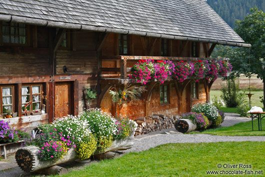 A typical southern Black Forest farm house