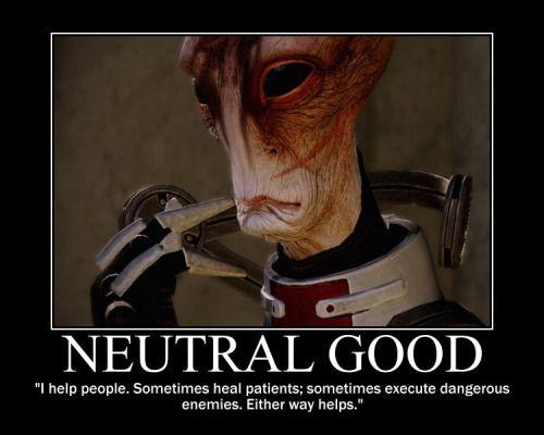 Mordin Solus,Mass Effect 2 Neutral Good