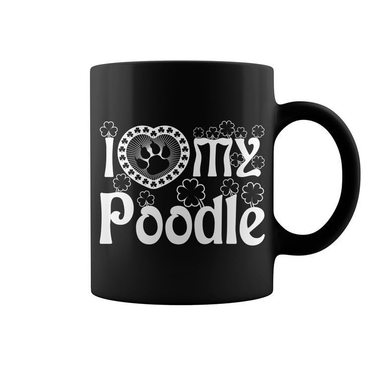 #Poodle Black Mug, Order HERE ==> https://www.sunfrog.com/Pets/131836284-890046618.html?6789, Please tag & share with your friends who would love it, #superbowl #renegadelife #christmasgifts   #poodle cuts, teacup poodle, poodle breeds  #posters #kids #parenting #men #outdoors #photography #products #quotes