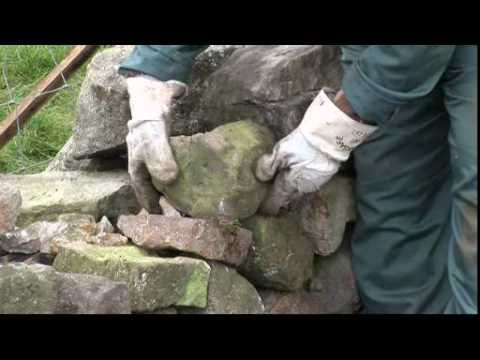 Dry Stone Walling - YouTube