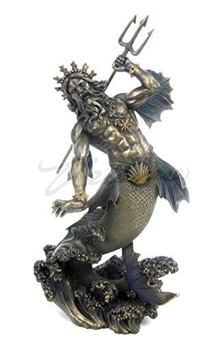 14 best aquariums decor zues posidon atlantis etc images on pinterest fish aquariums - Poseidon statue greece ...
