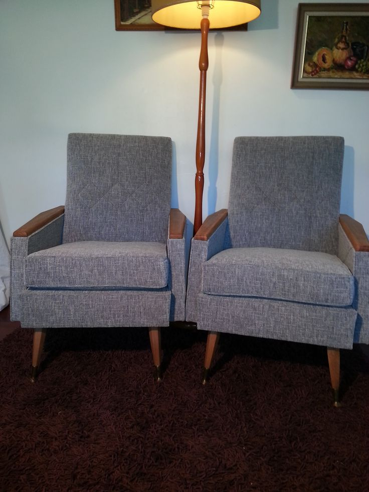 A pair of chairs that will be loved for decades to come