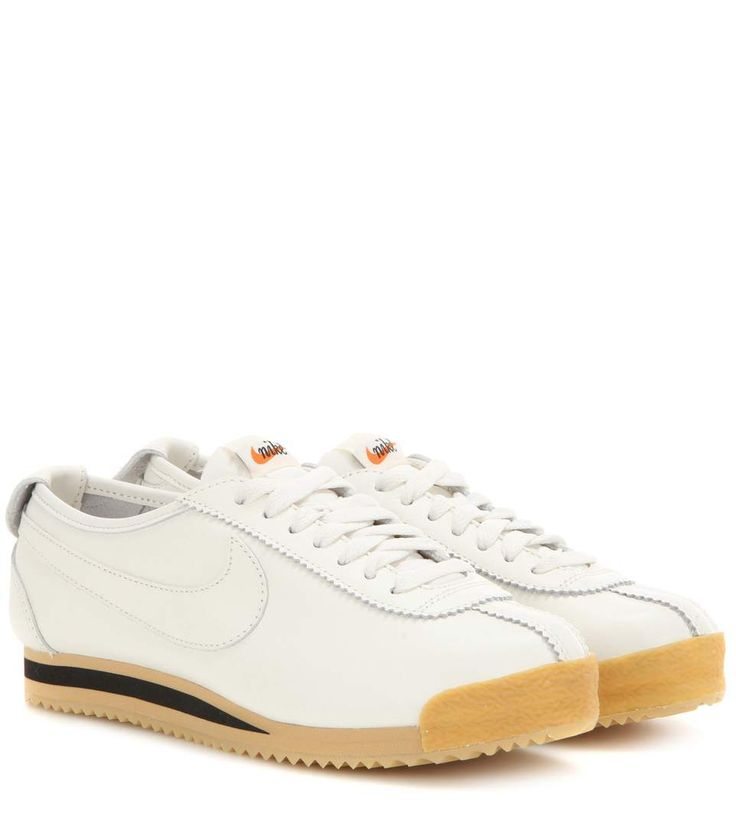 NIKE Cortez '72 Leather Sneakers. #nike #shoes #sneakers