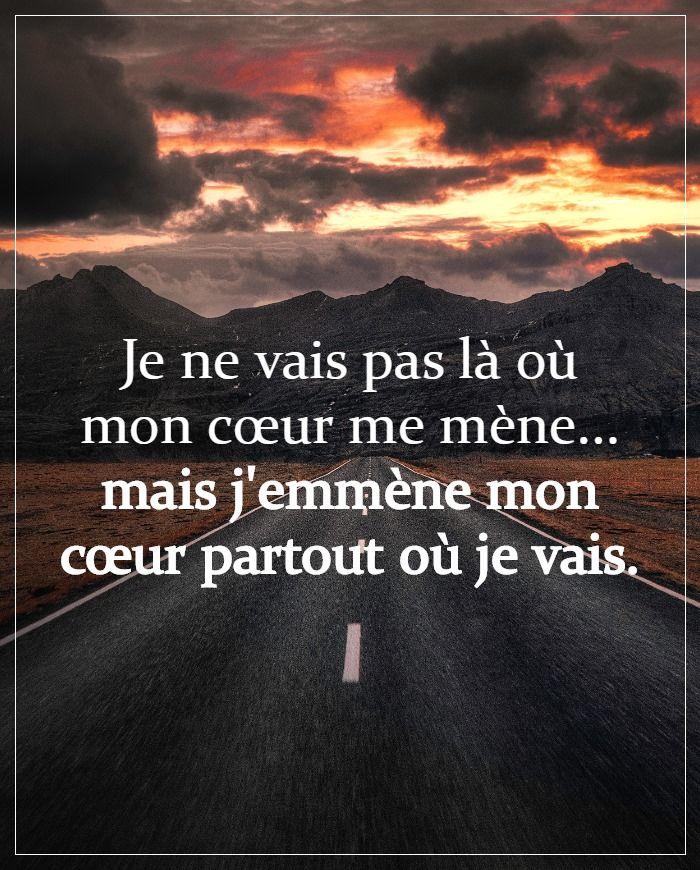 Citation De La Vie : citation, J'emmène, Coeur, Partout, Citations, Remonter, Moral,, Citation, Mère,, Texte, Inspirant