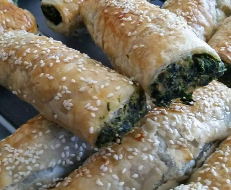 Recipe Spinach and Three Cheese Rolls by ThermoShaz - Recipe of category Baking - savoury