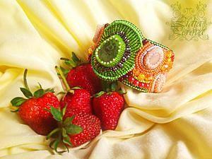 Вышиваем браслет «Тутти-Фрутти». Ярмарка Мастеров - ручная работа, handmade.
