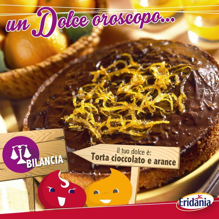 #OroscopoDolce Torta al cioccolato e arancia per chi è nato sotto il segno della Bilancia, un vero e proprio classico.