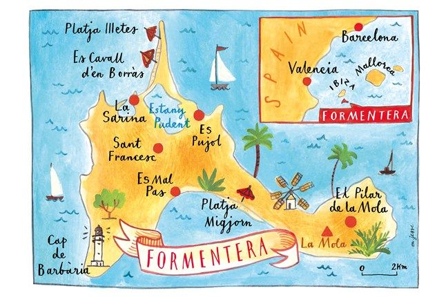 Formentera's best beaches, restaurants, bars and beach clubs (Condé Nast Traveller)