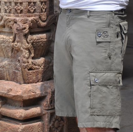 P^cubed - Pick-Pocket Proof Shorts by Clothing Arts - The Ultimate Adventure Travel Accessory!!