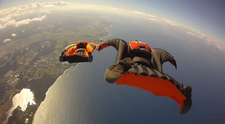 Wingsuit flying - Has to be one of the most ultimate rushes... to be able to fly!