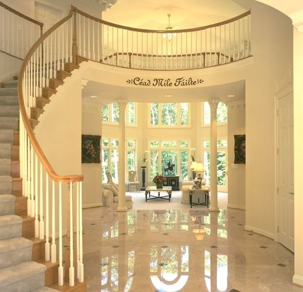 Foyer Staircase Quote : Images about foyer entry stairs on pinterest nd