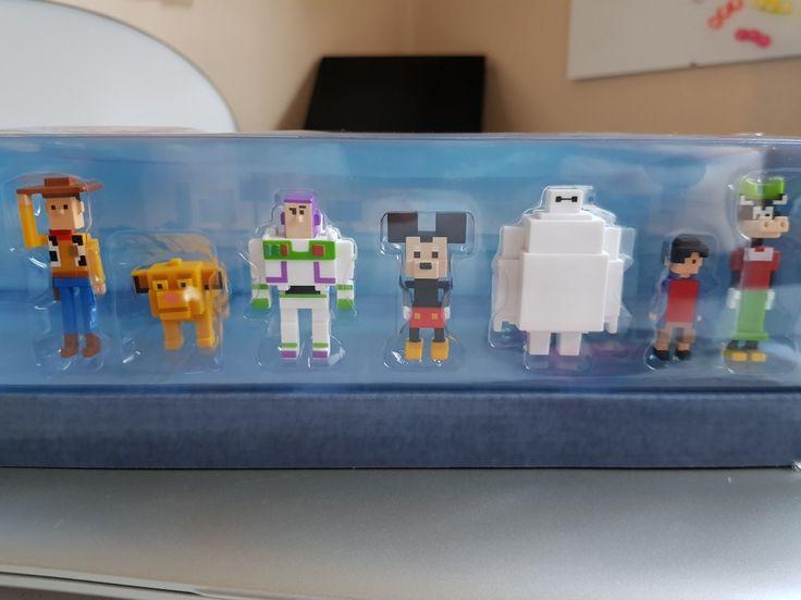 Disney Crossy Road Mini Figures - definitely my new addiction!! Disney plus pixels...AMAZING!