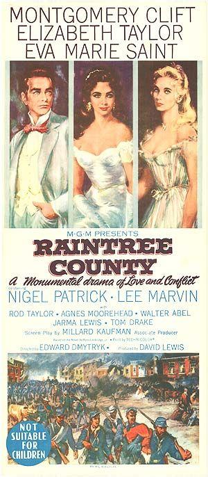 RAINTREE COUNTY Movie (1957)
