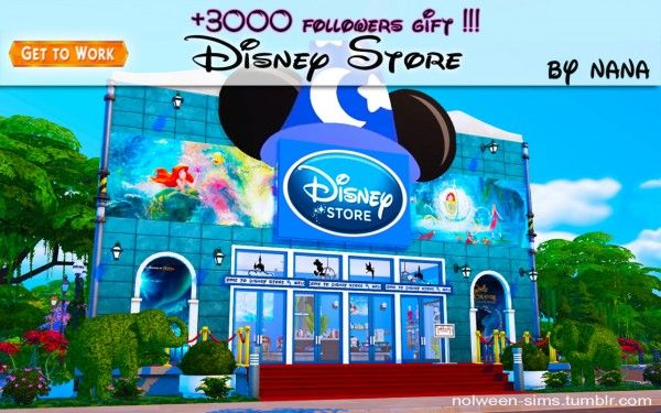 Nolween: Disney Store - BY NANA • Sims 4 Downloads