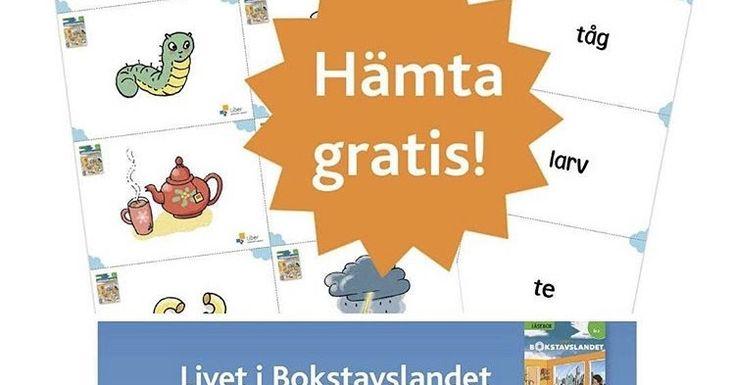 Livet i Bokstavslandets ord- och bildkort Barn och ord i centrum Här är länkar där följande ämnen beskrivs: Bokstavsarbete Läsläx...