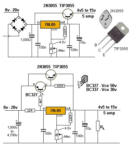 101 200 transistor circuits electricity electronics for Transistor inverseur
