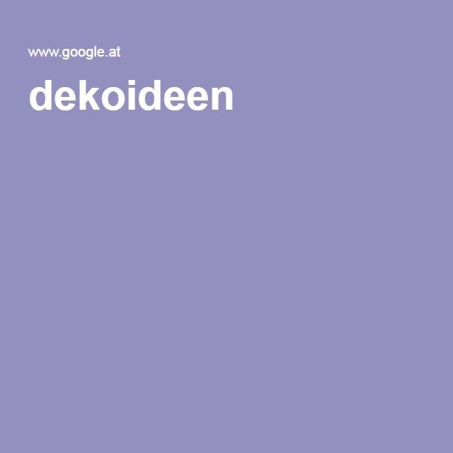 dekoideen
