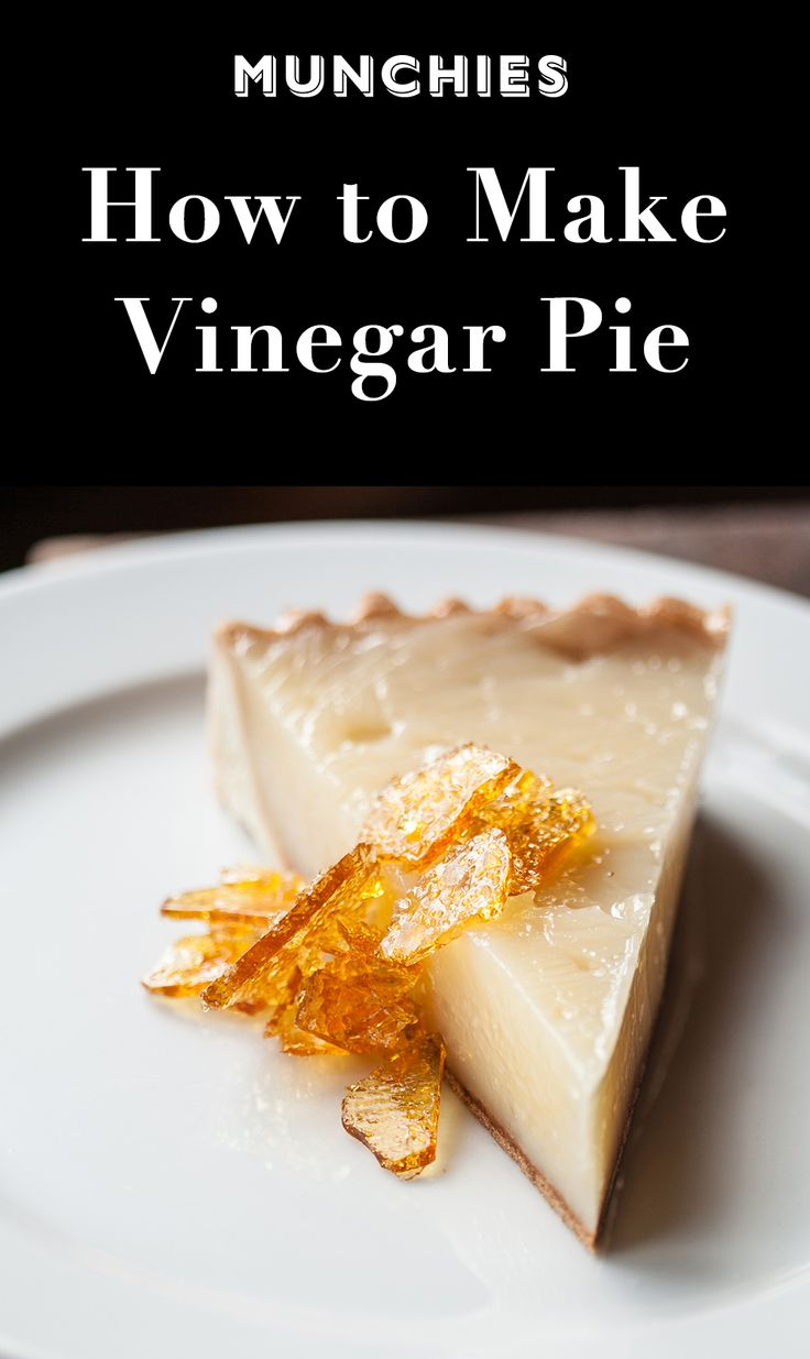 Vinegar Pie: Don't be fooled by its name - this simple pie from Houston's Underbelly is silky, sweet, tart, and delicious.