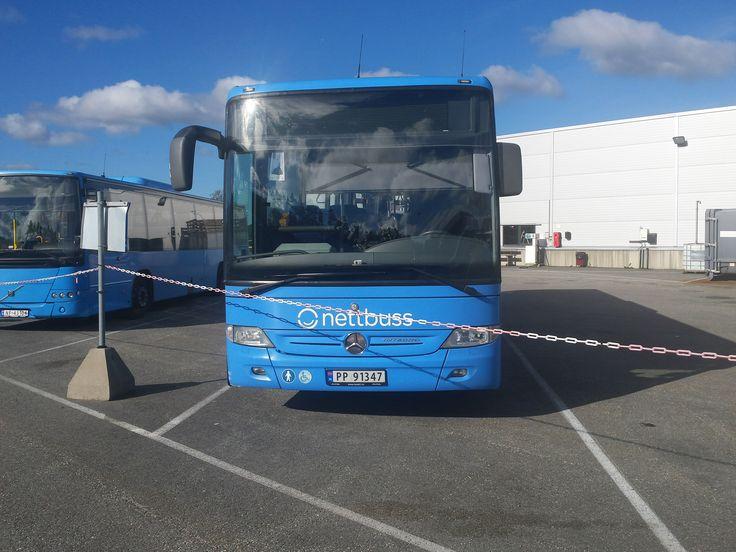 Mercedes benz Integro Nettbuss livery