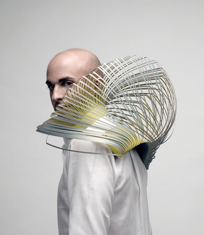 amazing animal inspired fashion from CAMILLE CORTET-FR/NL..wow Bird & Seduction accessory ●