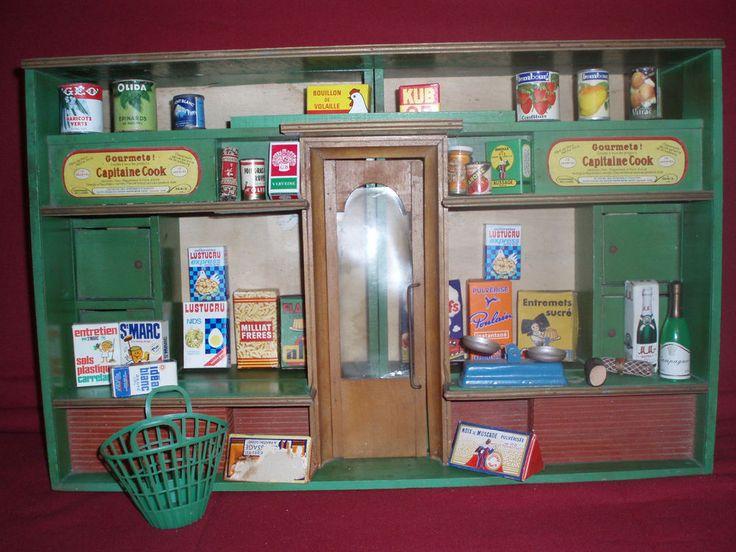 1000 images about epicerie ancienne on pinterest antiques shops and minia - Epicerie ancienne jouet ...