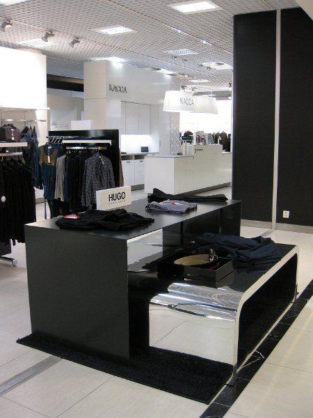 Pikvalin toteuttama myymälä: Stockmann Nevski Pietari.