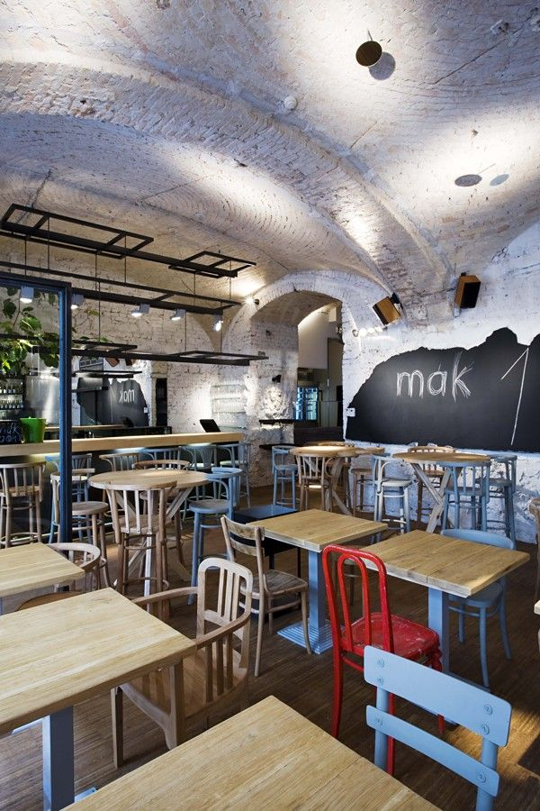 MÁK bistro by Dóra Fónagy, via Behance