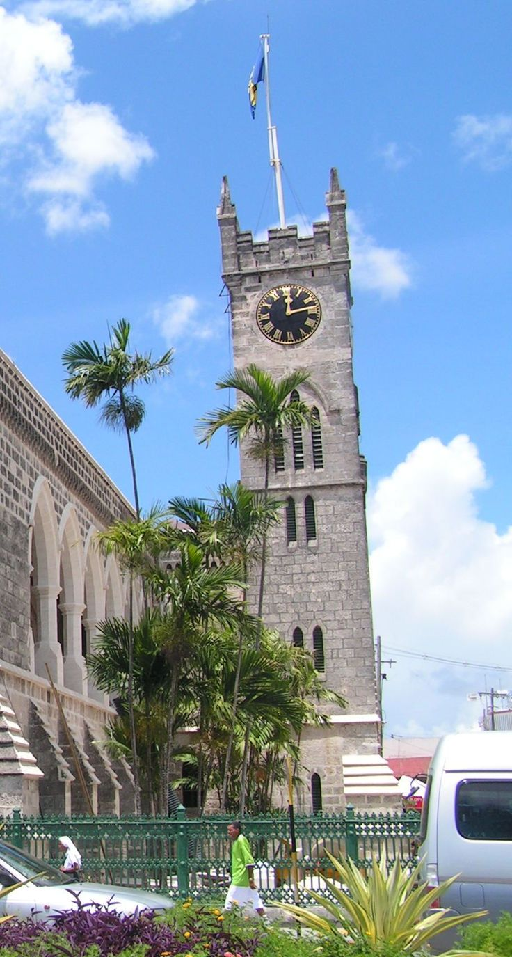 Bridgetown barbados parliament building -Barbados