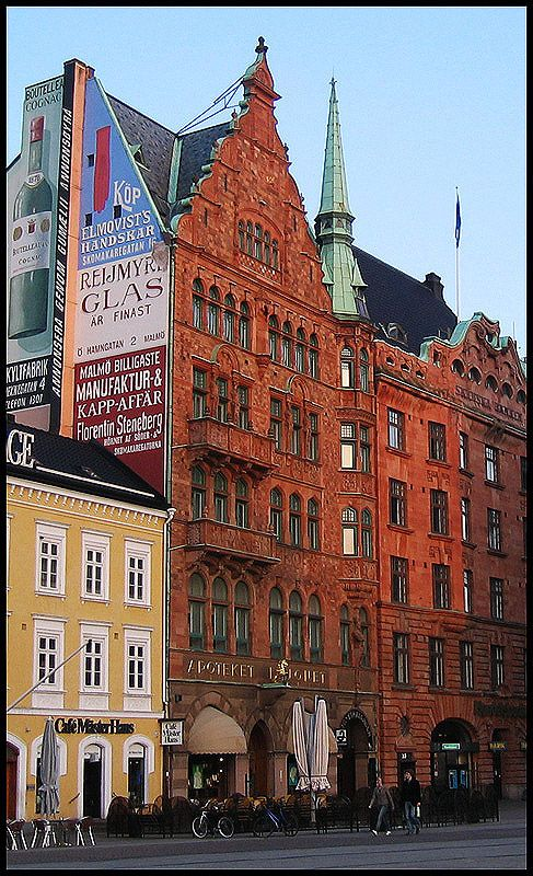 Stortorget (the large square), Malmö, Sweden - memories of a wonderful day with american company