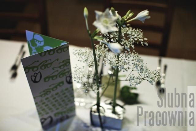 karta menu weselnego