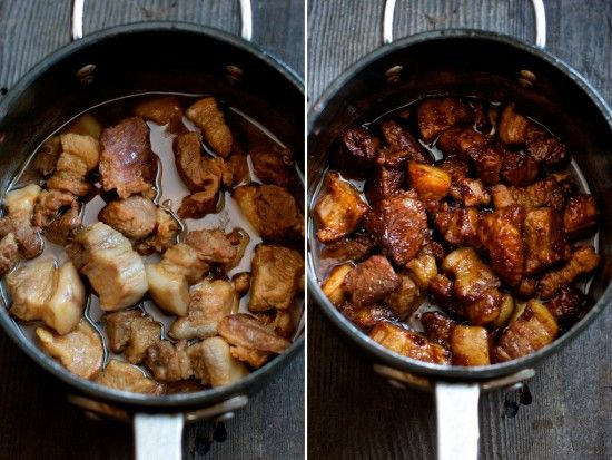 Mexican braised pork belly recipe