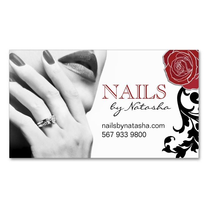 Best 12 nail technician flyers images on pinterest manicures nail customizable nail technician business cards reheart Gallery