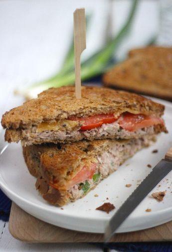 Tuna melt sandwich - Lekker en Simpel