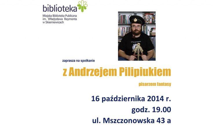 Spotkanie z Andrzejem Pilipiukiem
