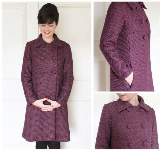 Make a 60s style coat at Sew Over It