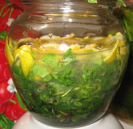 Приготовление лимонно-мятного ликера в домашних условиях