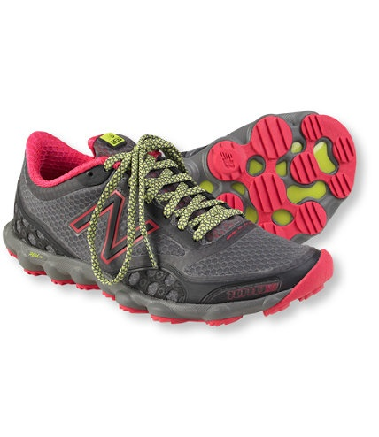I had no idea LLBean had running shoes... These are cute!  Women's New Balance Minimus 1010 Trail Shoes: Athletic | Free Shipping at L.L.Bean
