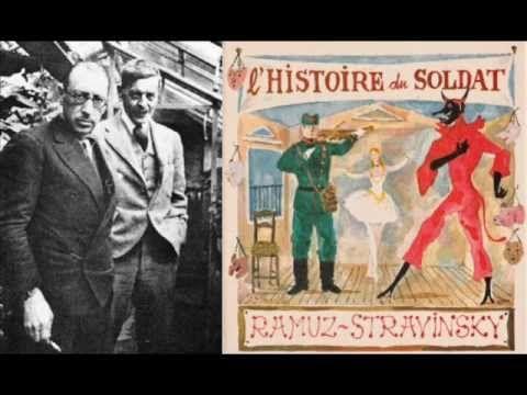 ▶ Stravinsky - L'Histoire du Soldat (version originale), huit extraits - YouTube