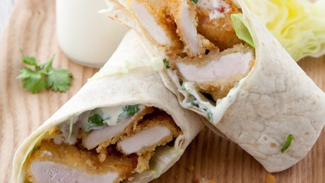 Chicken Goujon wrap