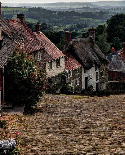 Gold Hill Shaftesbury, Dorset, UK