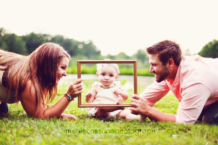 cute idea for a family photo
